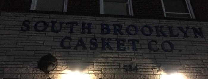 South Brooklyn Casket Co. is one of Lynn'ın Kaydettiği Mekanlar.