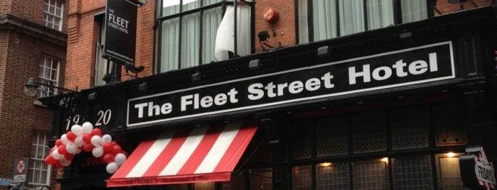 Fleet Street Hotel is one of สถานที่ที่ Miguel ถูกใจ.