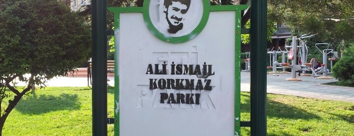 Ali İsmail Korkmaz Parkı is one of Es Es Es.