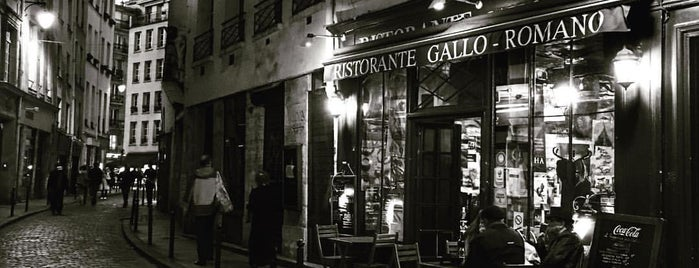 Ristorante Gallo Romano is one of Bonne bouffe parisienne.