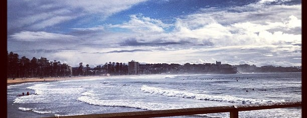 Manly Beach is one of Sydney.