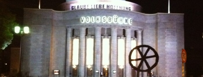 Volksbühne is one of Berlin #4sqcities.
