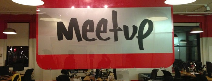 Meetup HQ is one of NYC Work Spaces & Tech Startups.