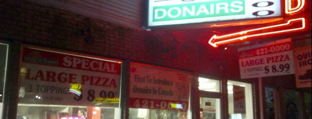 King of Donair is one of Daniel's Saved Places.