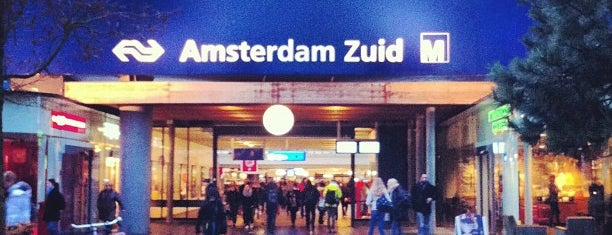 Station Amsterdam Zuid is one of Posti salvati di Antonio.
