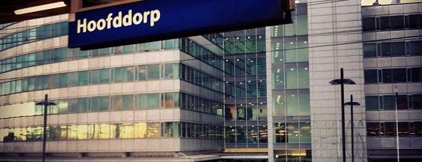 Station Hoofddorp is one of jordi : понравившиеся места.