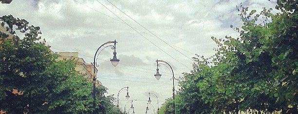 Проспект Чернышевского is one of Lugares favoritos de Светка.