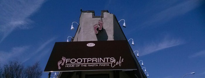 Footprints Cafe Express is one of New Places to try.