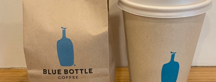 Blue Bottle Coffee is one of NYC 2019.