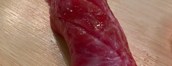 Sushi Teru is one of NYC.