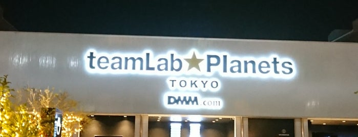 Teamlab Planets TOKYO is one of Tokyo.