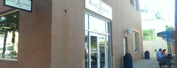 Blue State Coffee (Med Campus) is one of Coffee, Tea, and Smoothies.