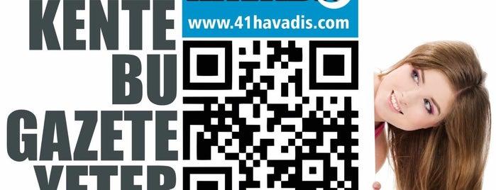41 Havadis Gazetesi -41havadis.com is one of Yusuf Metin'in Beğendiği Mekanlar.
