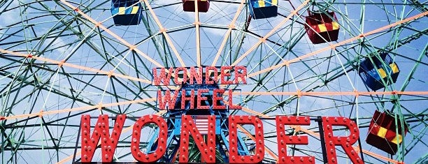 Deno's Wonder Wheel is one of New York City Landmarks.