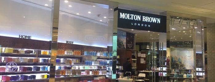 Molton Brown is one of Lugares favoritos de Gordon.