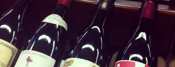 Cellar 53 Wine & Spirits is one of Vicky's Fleurie in NYC #wine #vinsdeVicky.