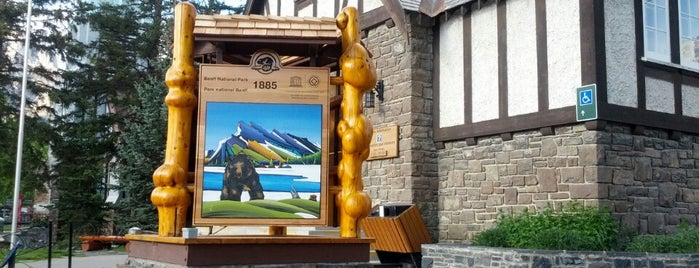 Banff Visitor Centre is one of Banff, Alberta, Canada.