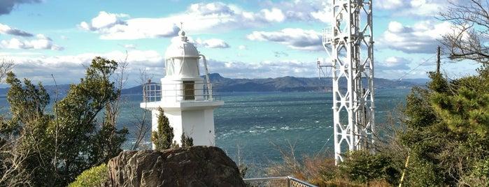地蔵埼灯台 is one of 小豆島の旅.