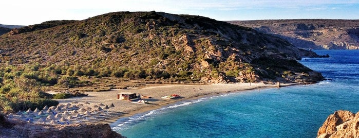 Vai beach is one of Hanya- heraklion.