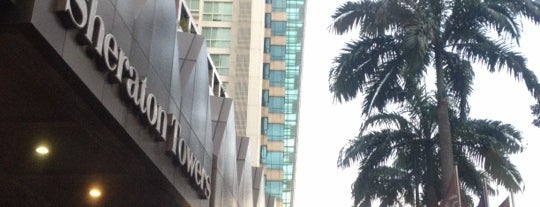Sheraton Towers Singapore is one of Jaseさんのお気に入りスポット.