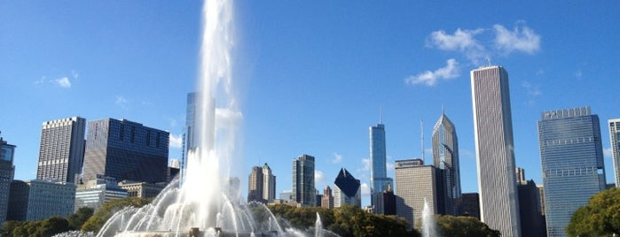 Grant Park is one of Chi-Town.
