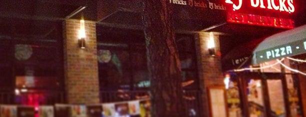 PJ Brick's is one of สถานที่ที่บันทึกไว้ของ Brian.