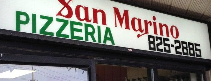 San Marino Pizzeria is one of Stef 님이 좋아한 장소.