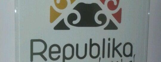 Republika Hostel is one of Aqui tem Wifi grátis - Natal/RN.