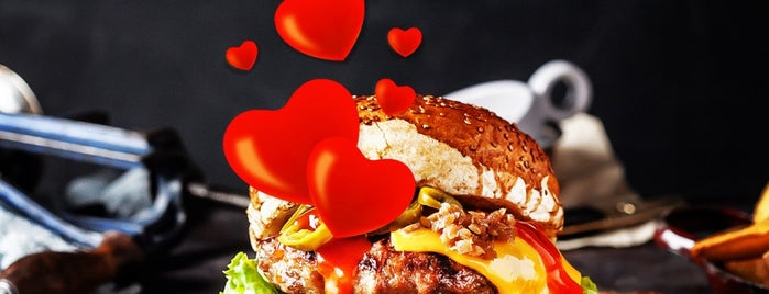 Friends & Burgers is one of Orte, die Murat Engin gefallen.