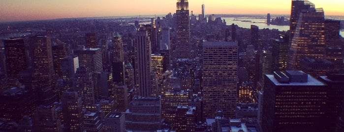 Top of the Rock Observation Deck is one of NYC #NEWYORK.