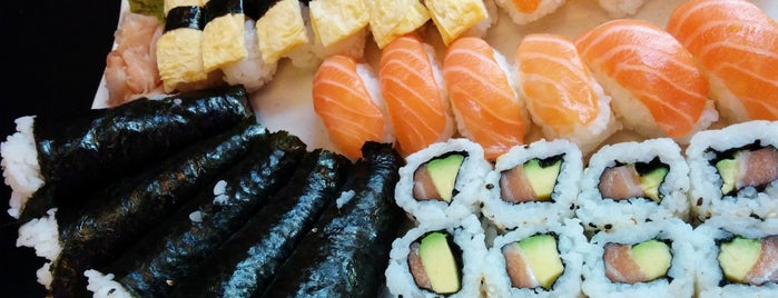 Okita Sushi is one of Orte, die Ka0nashi 🎀 Vero gefallen.