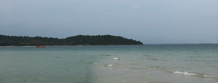 Long Set (4km) Beach is one of Cambodia.