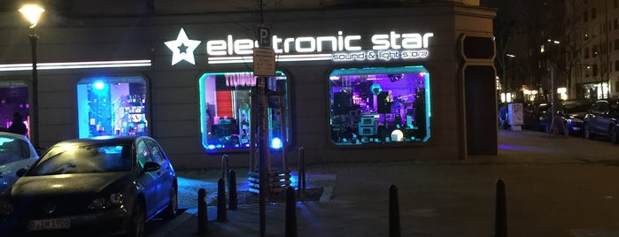 Electronic Star Sound & Light Store is one of Berlin Best: Shops & services.