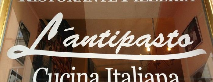 L'Antipasto is one of Tempat yang Disimpan merrykay_cgn.