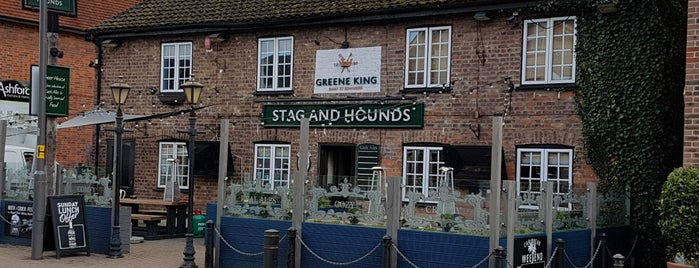 Stag & Hounds is one of Good Beer Pubs.