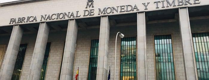 Fábrica Nacional de Moneda y Timbre is one of 100 cosas que hacer en Madrid.