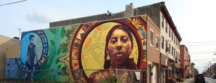 Phila. Mural Arts Trolley Tour is one of 100 Things to Do in Philly.