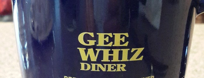 Gee Whiz Diner is one of Tempat yang Disukai NycGal.