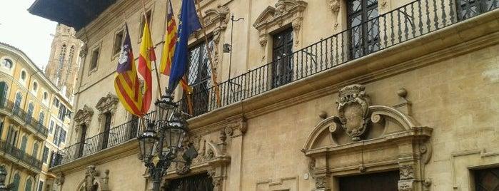 Ajuntament de Palma is one of Orte, die Francisco gefallen.