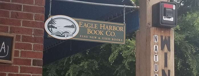 Eagle Harbor Bookstore is one of Bookstores.
