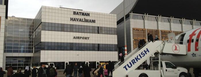 Batman Havalimanı (BAL) is one of Airports in Turkey.