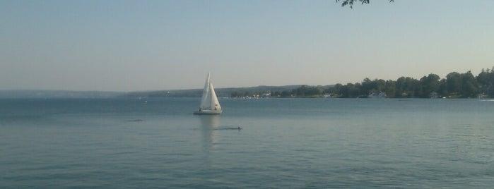 Skaneateles Lake is one of Emily : понравившиеся места.
