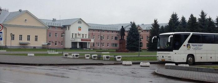 Красная площадь is one of Суздаль.