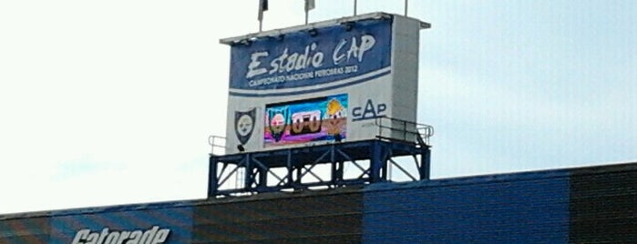 Estadio CAP is one of Luis 님이 좋아한 장소.