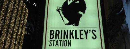 Brinkley's Station is one of Bars with Fireplaces.