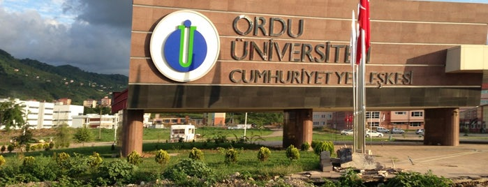 Ordu Üniversitesi is one of Ercanさんのお気に入りスポット.