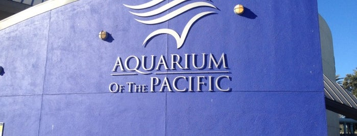 Aquarium of the Pacific is one of California-2.