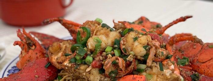 Boston Lobster is one of LA.
