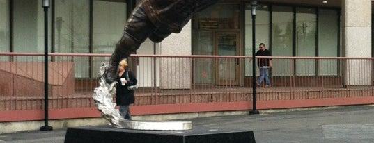 Bobby Orr Statue @ TD Garden is one of Beantown.