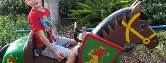 The Royal Joust is one of Legoland list.